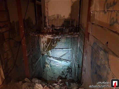 مرگ مرد ۲۲ ساله پس از سقوط ۹ طبقهای+ تصاویر
