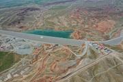 سد «کرم آباد» پلدشت با حضور رییس جمهوری افتتاح شد