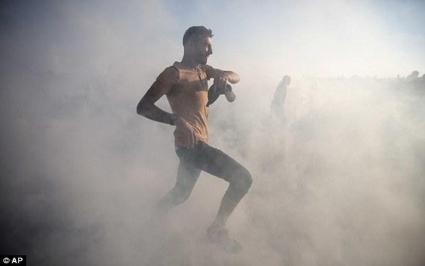تظاهرات غزه