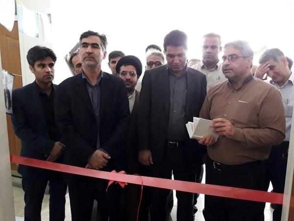 افتتاح نمایشگاه اجتماعی کردن مبارزه با مواد مخدر در امیدیه