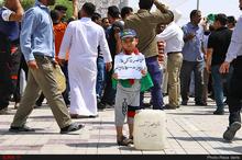 دست نوشته جالب کودک خرمشهری + عکس
