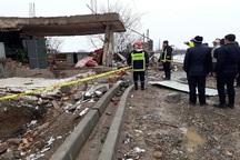 انفجار پیک نیک در میاندوآب موجب تخریب ساختمان شد
