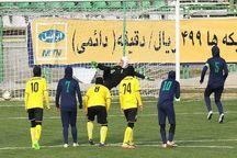 تیم فوتبال بانوان پالایشگاه گاز ایلام مهمان خود را شکست داد