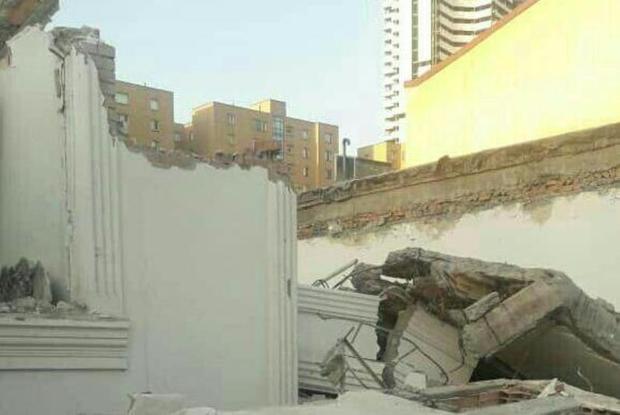 حادثه آوار در شهرک دانشگاه تهران جان یک کارگر را گرفت