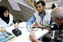 روزانه به 100 زائر اربعین درقم خدمات درمانی ارائه می شود
