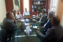 نشست خاوری با اعضای هیات مدیره انجمن شرکتهای راهسازی گیلان