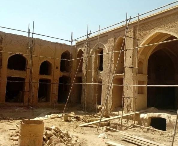 آغاز مرمت 7 اثر تاریخی در شهرستان مهریز+ تصاویر