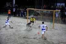 لیگ برتر فوتبال ساحلی ایفاسرام اردکان، شهید جهان نژادیان آبادان را شکست داد
