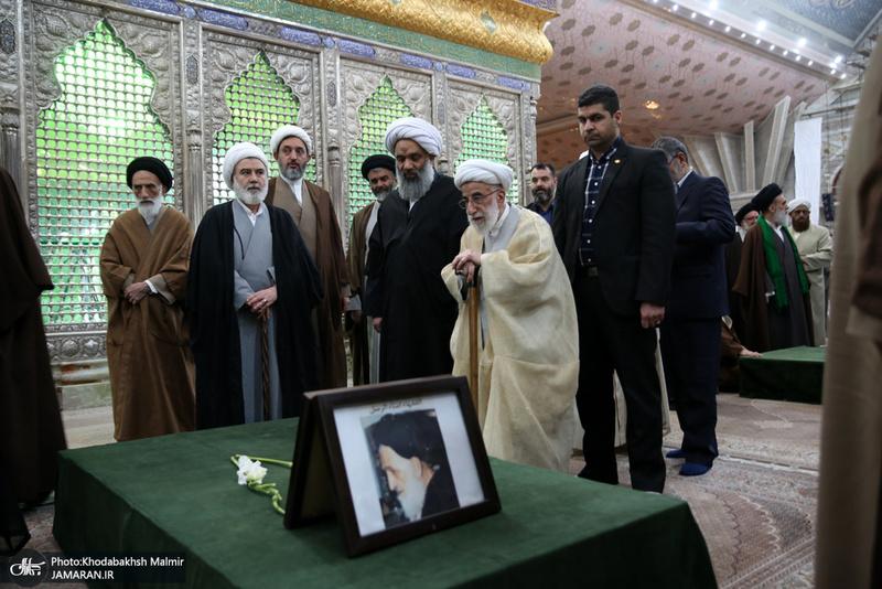 تجدید میثاق رئیس و اعضای مجلس خبرگان رهبری با آرمان های امام خمینی(س)