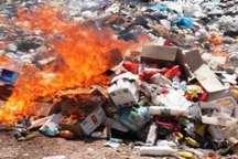 بیش از 26 تُن مواد غذایی فاسد در سنندج امحا شد