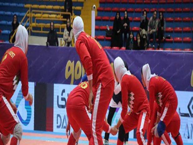 قزوین میزبان اردوی تیم ملی کبدی بانوان شد