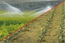 ۴۸ میلیارد تومان برای مجهز شدن مزارع گلستان به آبیاری نوین نیاز است