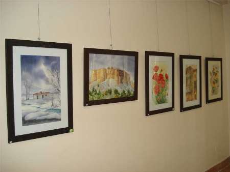 برپایی نمایشگاه نقاشی 'پاپیروس' در نیشابور