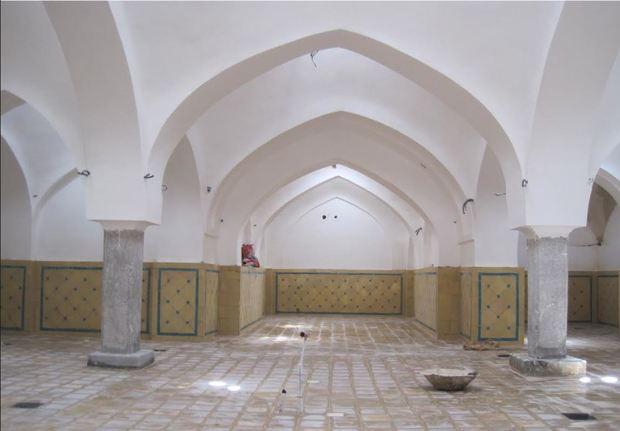 'حمام تاریخی شیخ صفی' در مبارکه مرمت شد