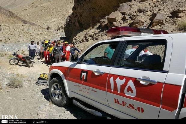 کوهنوردی 62 ساله در کاشان جان باخت