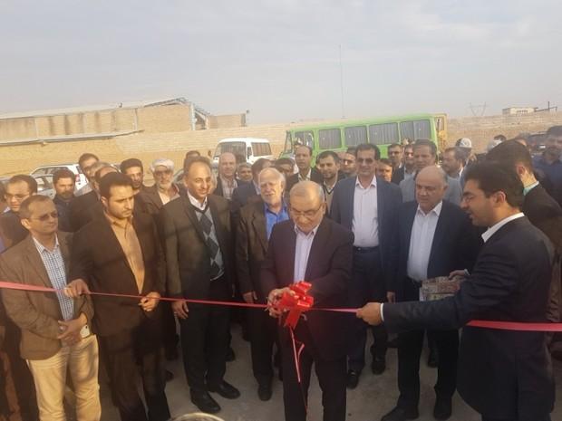 سومین نیروگاه خورشیدی مجهز به سیستم ردیاب در قم افتتاح شد