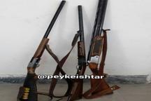 دستگیری سه شکارچی غیرمجاز در شهرستان سلسله