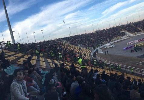 ورزشگاه ثامن در اختیار هواداران پرسپولیس + عکس
