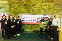 کسب مقام قهرمانی توسط تیم تیراندازی دختران دانشگاه ارومیه