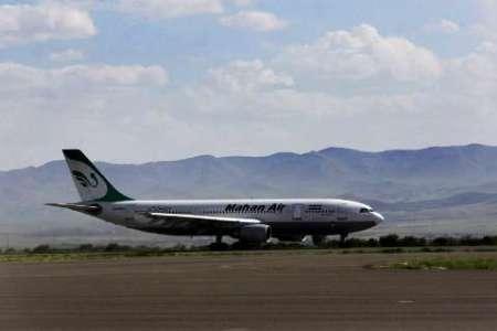 مسافران پرواز تهران - جیرفت در کرمان پیاده شدند