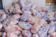 آغاز توزیع 30 تن مرغ منجمد در بازار آستارا