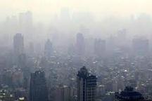 هوای پایتخت در شرایط ناسالم برای گروههای ناسالم قرار گرفت