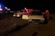 ۴ مصدوم در واژگونی خودرو  پیکان در محور قوچان -چناران