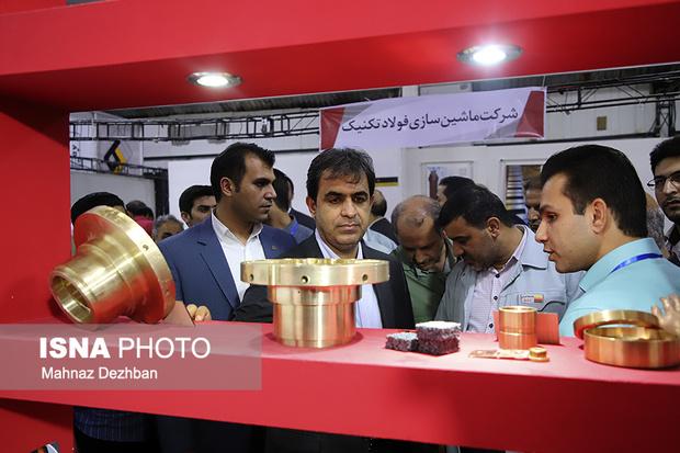 اولین نمایشگاه بومیسازی تجهیزات فولاد خوزستان افتتاح شد