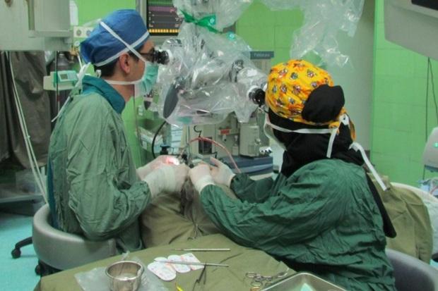 عمل جداسازی مجرای ادرار یک کودک با موفقیت انجام شد