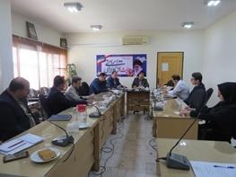 اولین نشست شورای اطلاع رسانی سازمان صنعت ، معدن و تجارت استان سمنان تشکیل شد