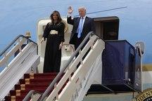 عکس/ پوشش بانوی اول آمریکا در عربستان