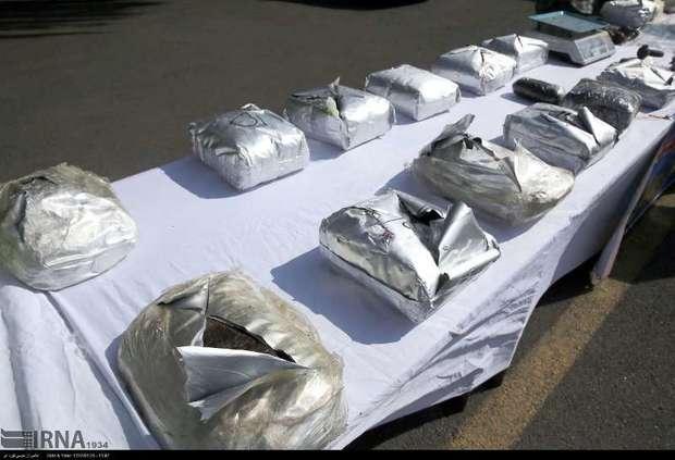 9 هزارکیلوگرم انواع مواد مخدر در البرز کشف شد