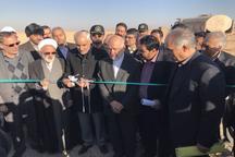 2 طرح مقابله با بیابان زایی و ریزگردها در شرق اصفهان آغاز شد