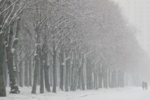 بارش برف در غرب و شمال استان اصفهان دمای هوا به زیر صفر می رسد