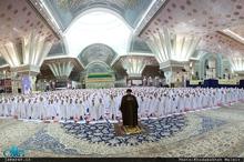 جشن تکلیف دانش آموزان دختر منطقه 19 تهران در حرم مطهر امام خمینی(س)