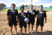 کلاس توجیهی داوران لیگ برتر فوتبال ساحلی کشور به میزبانی بوشهر برگزار می شود