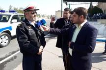 پلیس راه با نظارت دقیق در کنار مسافران نوروزی خواهد بود