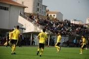 تیم فوتبال فرهنگ ایثار آستارا سرخپوشان تبریز را شکست داد