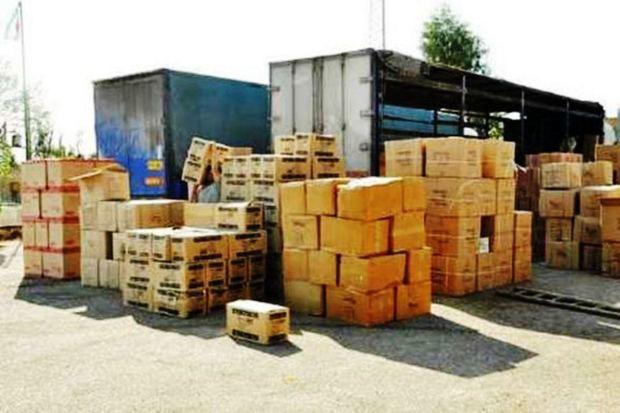 کشف کالای قاچاق درهرمزگان 184 درصد افزایش یافت