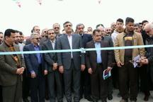افتتاح طرح دفع بهداشتی فاضلاب روستاهای لاهیجان با حضور سالاری