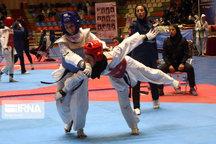 درخشش دختران خردسال گیلان در مسابقات قهرمانی تکواندو