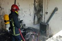 آتشسوزی در یک منزل مسکونی در مشهد