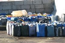 20 هزار لیتر سوخت قاچاق در قصرشیرین کشف شد