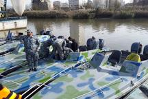 یگان حفاظت شیلات مازندران چهار فروند قایق جدید به اب انداخت