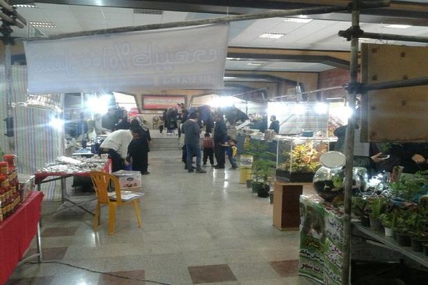 نمایشگاه تولیدات داخلی در مهاباد گشایش یافت