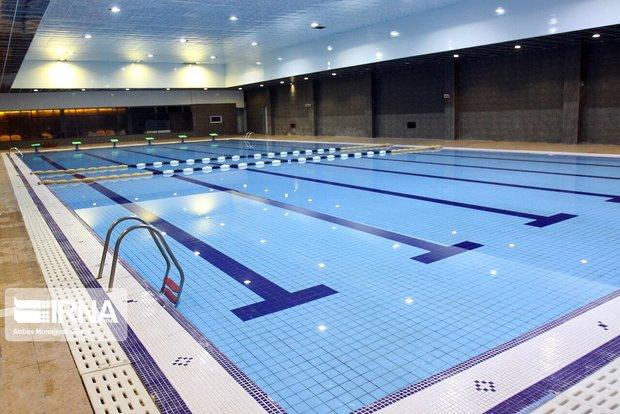 بانوان شناگر قزوین در مسابقات کشوری نایب قهرمان شدند