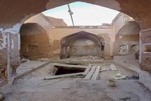 خانه تاریخی برگی بشرویه در دست مرمت است