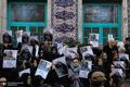 مراسم تشییع پوران شریعت رضوی در حسینیه ارشاد