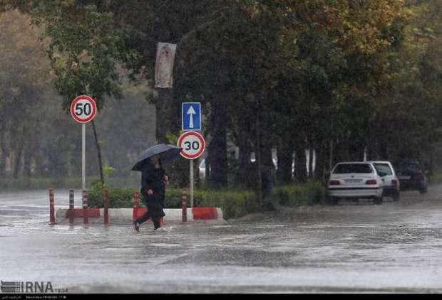 بارندگی و کاهش دما در گیلان از فردا