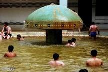 استفاده از ظرفیتهای آبدرمانیها به عنوان استخر شنا!